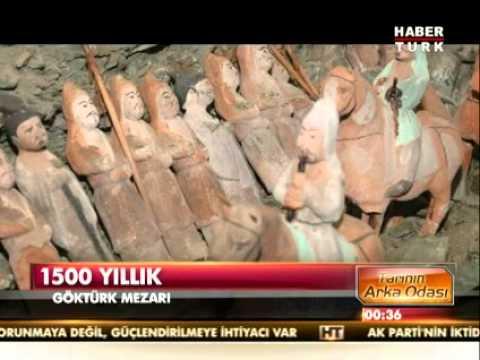 1500 Yıllık Türk Mezarı  Bulundu (Ötüken-Moğalistan)