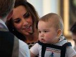 9 aylık Prens George ilk resmi kabulünü gerçekleştirdi