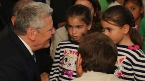 Almanya Cumhurbaşkanı Gauck Kahramanmaraş ta