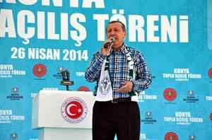 Başbakan Erdoğan Toplu Açılış Törenine Katıldı
