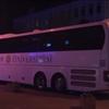 Basketbolcuları taşıyan otobüs bariyere çarptı –