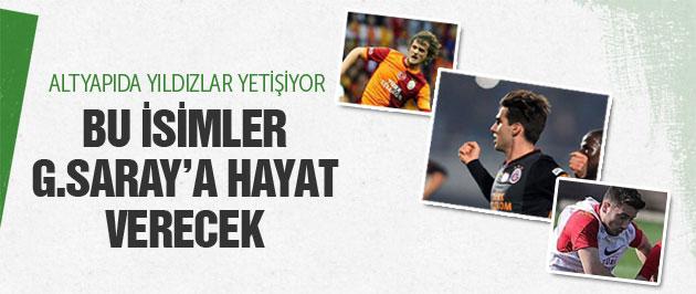 Bu isimler Galatasaray'a hayat verecek