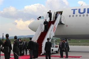 Cumhurbaşkanı Gül, Yurda Döndü