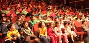 Karaman da Anaokulu Öğrencileri İçin Tiyatro