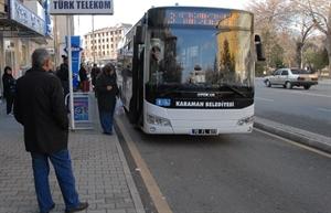 Karaman da Belediye Otobüsleri 3.5 Yılda 6 Milyon …