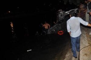 Karaman da Otomobil Sulama Kanalına Düştü: 1 Ölü