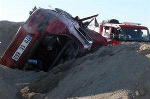 Karaman da Trafik Kazası: 1 Yaralı