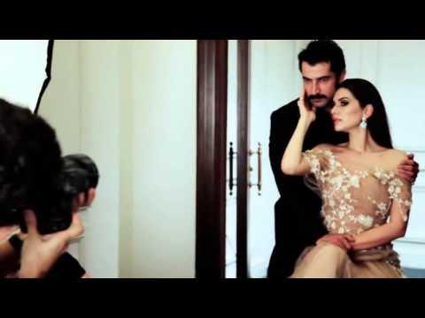 Kenan İmirzalıoğlu & Bergüzar Korel -Making of the Shootings for Marie Claire Türkiye