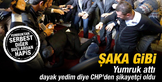 Kılıçdaroğlu'na saldıran Övet serbest bırakıldı