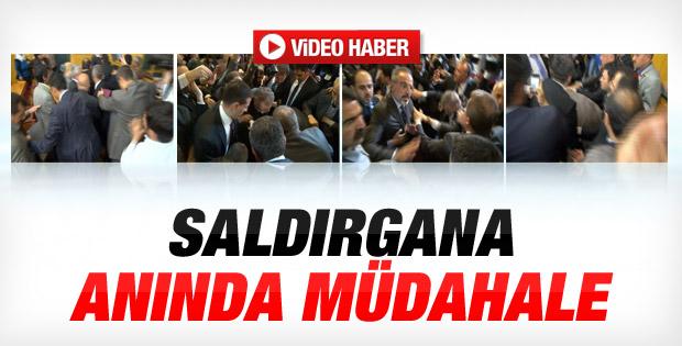 Kılıçdaroğlu'na saldıran şahsa linç girişimi İZLE