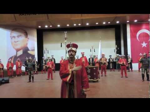 Mehter Marsi Ottoman Military Band at the Turkish Military Museum in Istanbul