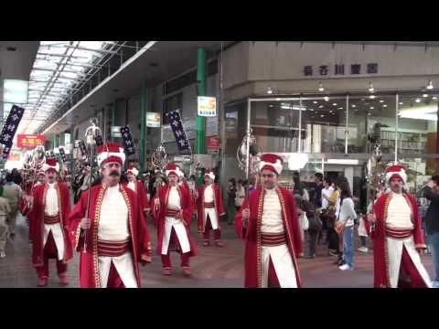Mehter Takımı Hücüm marsı Japonya