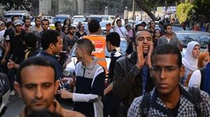 Mısırlılar Koşarak Protesto Ediyor