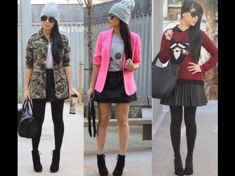 Moda: Outfits invierno 2013