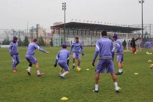 Orduspor, Samsunspor Maçının Hazırlıklarını Sürdürdü