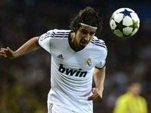 Real Madrid de Khedira Sevinci
