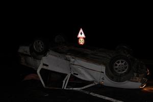 Şanlıurfa da Otomobil Devrildi: 1 Ölü, 2 Yaralı