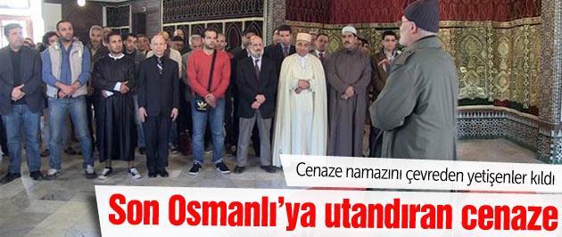Son Osmanlı'ya yüz kızartan cenaze!