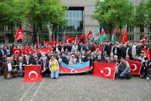 Türk Stk lar Lahey de Ermeni Anıtını Protesto Etti