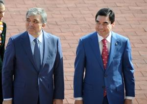 Türkmenistan At Bayramı nı Cumhurbaşkanı Gül ile Kutladı