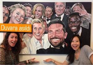Twitter, Rekor Kıran Selfie yi Çerçeveletip Duvara …