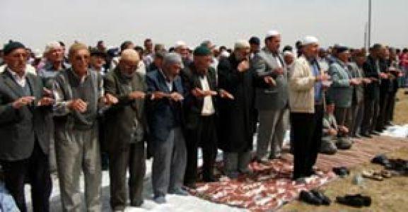 Karaman da Yağmur Duası