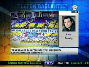 """Yeni Marş] Kıraç – """"Ölümsüzsün Sen Fenerbahçe"""""""