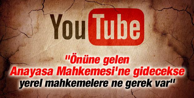 Youtube yasağın kaldırılması için AYM'ye başvurdu