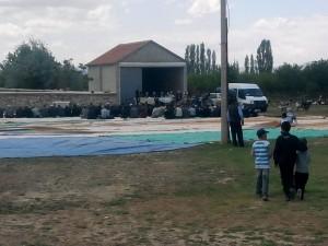 Çakirbag Köyünde yağmur duası.