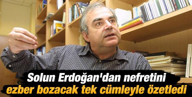 Berktay: Sol yenilginin öfkesini Erdoğan'a yöneltiyor