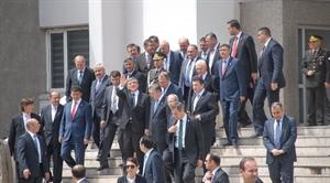 Cumhurbaşkanı Gül Cuma Namazını Ulu Cami de Kıldı