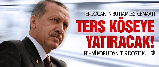 Erdoğan'dan cemaati ters köşeye yatıracak hamle!