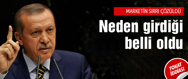 Erdoğan markete sığındı mı? Her şeyi anlattı