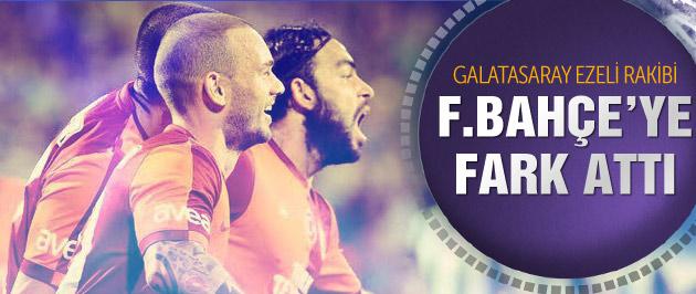 G.Saray Fenerbahçe'ye fark attı