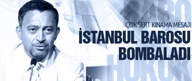 İstanbul Barosu'ndan çok sert kınama!
