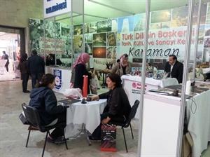 Karaman Belediyesi nin Standı Büyük İlgi Görüyor