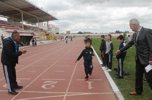Karaman da Sporcu Seçmeleri Yapıldı