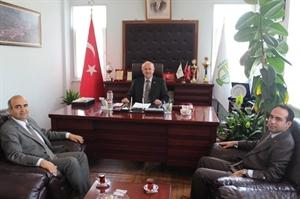 Sağlık Müdürü Koç tan Başkan Karaman a Ziyaret