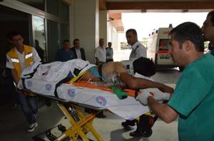 Karaman da İş Kazası: 1 Yaralı