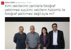Hakan Şükür'den Erdoğan'a fotoğraflı çok konuşulacak cevap