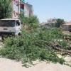 Karaman da Belediyenin Yol Genişletme Çalışması Sırasında …