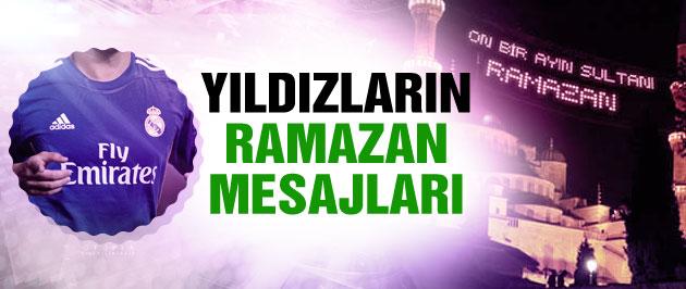Yıldız futbolculardan Ramazan tweetleri