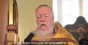 Kilisede Rus Bas Rahip Müslümanlar Hakkinda Ne konusuyor