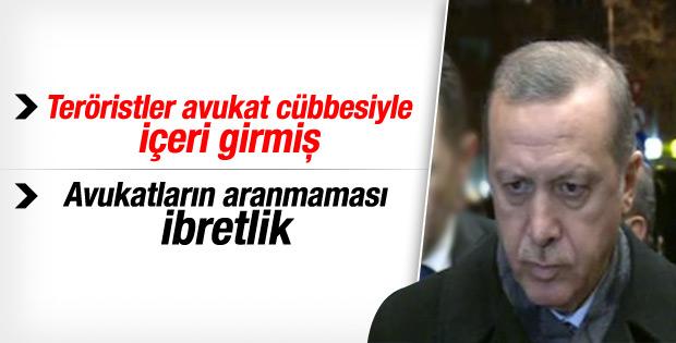 Erdoğan'dan rehine operasyonuna ilişkin açıklama