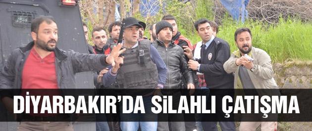 Diyarbakır'da silahlı çatışma 2'si polis…