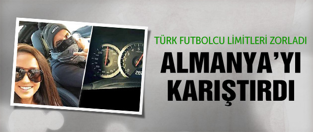 Türk futbolcu Almanya'yı karıştırdı